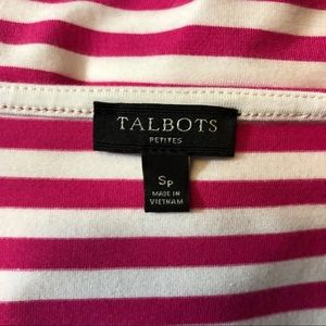 Talbots Tops - Talbot's Striped Top with Side Tie